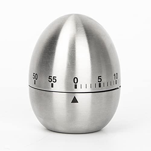 Re.Cook - Temporizador mecánico para huevos (acero inoxidable)