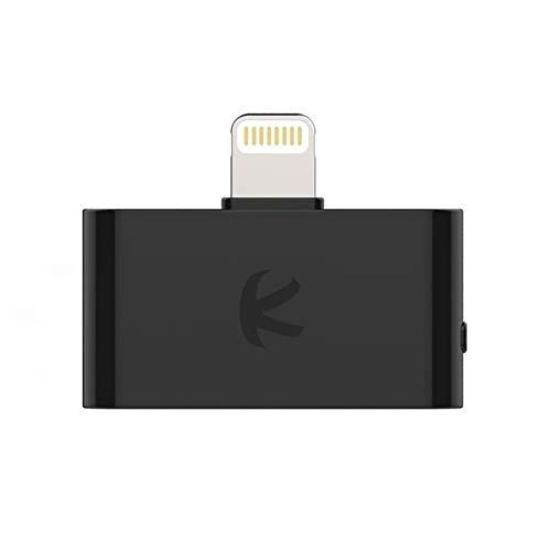 KOKKIA i10L_Pro : Digital Bluetooth Splitter Transmitter with switchable aptX/Low-Latency aptX/FastStream/SBC codecs, for iPhone,iPad,iPod Touch with Lightning Connector. Streams to 2 Sets AirPods.