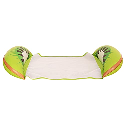 Hamaca inflable para piscina 4 en 1, portátil, balsas inflables, piscina, aire, silla flotante, tapete de piscina para adultos y niños