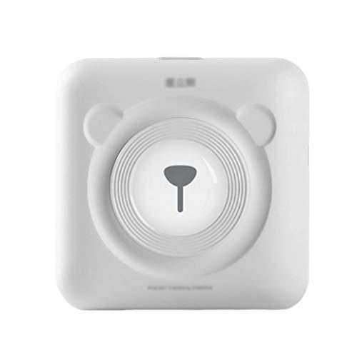 BBGGJ Presente de cumpleaños Mini Bluetooth for Impresora de Etiquetas térmicas Etiqueta Impresora de Recibos Impresora fotográfica portátil Compatible