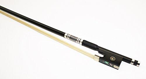 Cherrystone 4260180884982 Geigenbogen Violinenbogen Bogen 4/4 carbon/silber