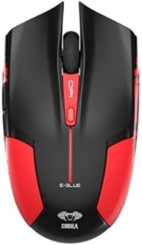 E Blue Cobra JR 1600 DPI Ergonomic Gaming LED Mouse Red product image