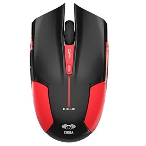 E-Blue Cobra JR 1600 DPI Ergonomic Gaming LED Mouse (Red)