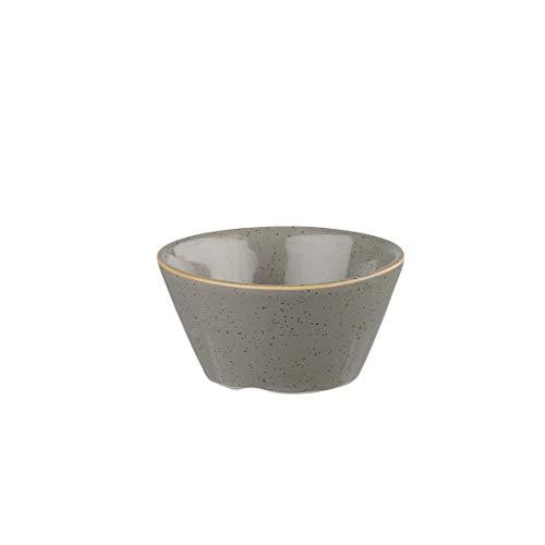 Churchill Stonecast -Sauce Dish- Inhalt: 9cl, Farbe wählbar (Peppercorn Grey)