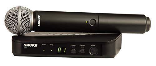 Shure Blx24/Sm58 - Sistema Radio Con Microfono Dinamico Sm58