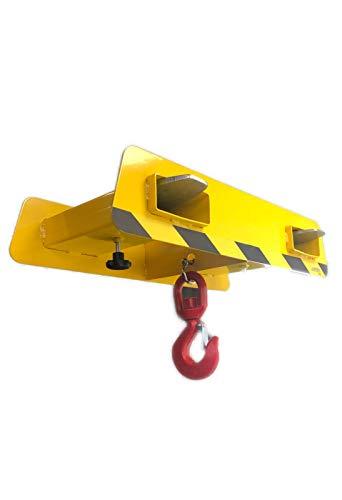 A. Weyck Tools Lasthaken für Gabelstapler Tragkraft 1,5t Maße: 725x320x145 Stapler Traverse