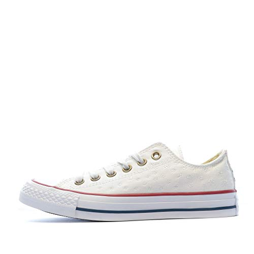 555882C|Converse CT AS Specialty Ox Sneaker, white casino, 36 EU