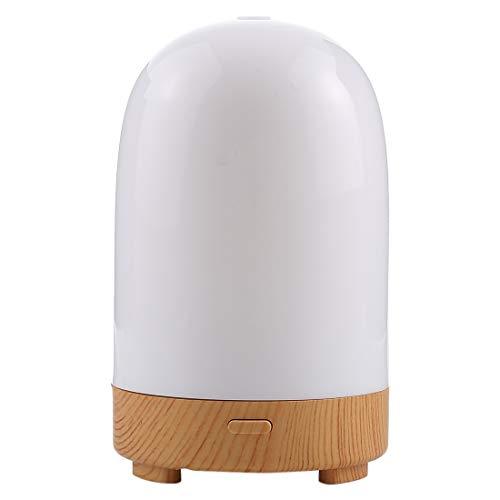STZLY Luftentfeuchter Kleiner 5W Kapselform Mini Luftbefeuchter mit Buntem Licht, Kapazität: 50ml, DC 5V (Weiß) (Color : White)
