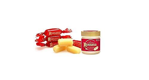 Rossana 1kg Süßigkeiten + Crema Spalmabile Streichfähige Sahne 200 g