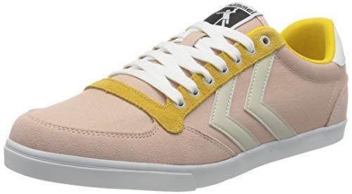 hummel Womens Slimmer Stadil Low Sneaker, Cloud PINK,42 EU