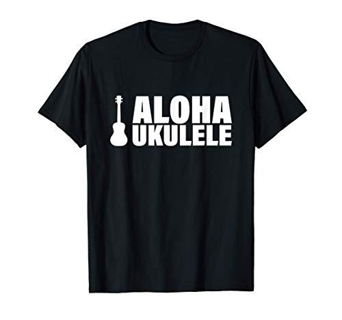 Aloha Ukulele Hawai Musik Gitarre T-Shirt