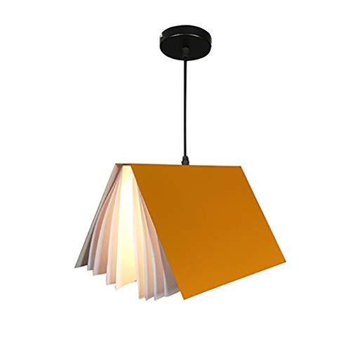 Candelabro Nordic Creativa Libro Decoración Araña Personalidad Estudio Biblioteca Barras de Habitaciones Restaurante Pasillo iluminación de la lámpara Arte [Clase de eficiencia energética A++]