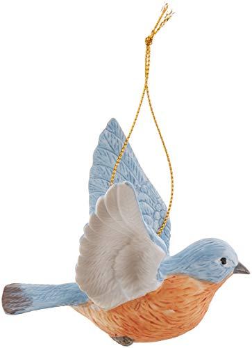 Cosmos Gifts B9023 Ceramic Bluebird Ornament, 3-1/2-Inch