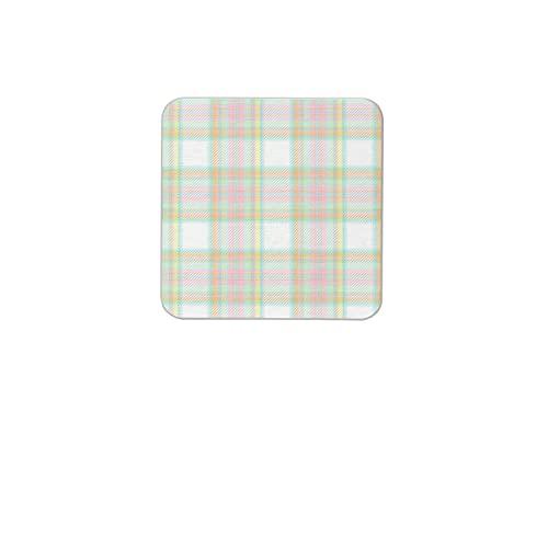 Green Accents - Juego de posavasos (6 piezas)
