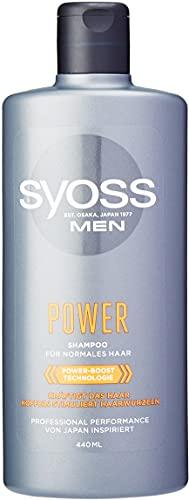 SYOSS Koffein Shampoo Men Power, 1er Pack (1 x 440ml)