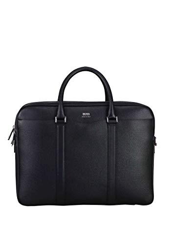 BOSS Herren Signature_d Doc Laptop Tasche, Schwarz, 12x30x40 cm