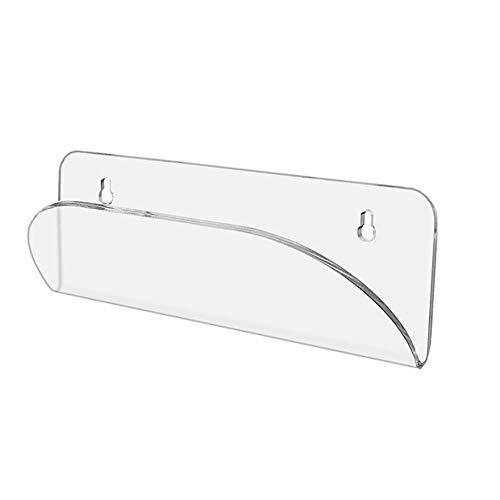 YUOKI99 Skateboard-Aufhänger, Acryl, Deck, Scooter, Rack sy Installieren GH Stärke, transparent, langlebig, Wandhalterung, Universal-Longboard-Display zum Aufhängen