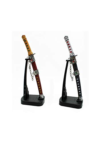 2 X Brieföffner Schwert Samurai Ninja 17 CM Tisch Deko by schenkfix