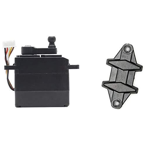Domilay Repuestos de Accesorio Servo RC Coche 5 Cables 25-ZJ04 para 9125 RC Accesorio de AutomóVil para RC Coche