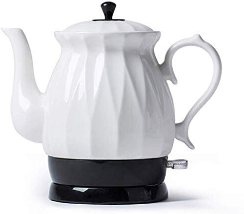 Bouilloires en céramique bouilloire électrique sans fil eau Teapot, Teapot-rétro 1.7L Jug rapide 8bayfa