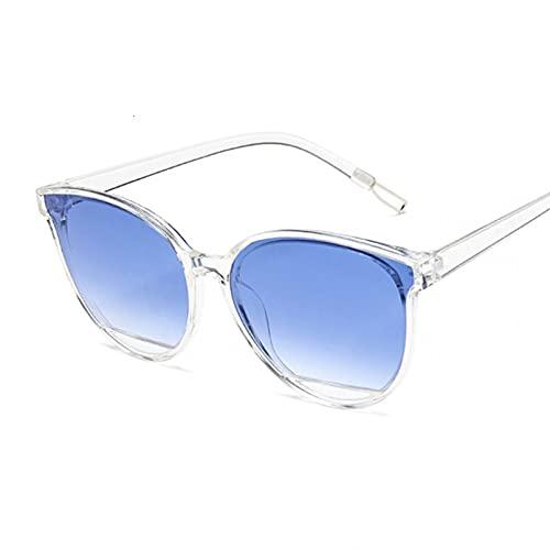 YTYASO Gafas de Sol de Moda para Mujer Gafas de Sol de Espejo UV400