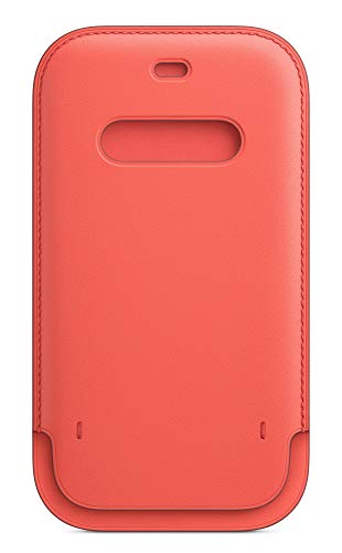 Apple Funda Integral de Piel conMagSafe (para el iPhone12 y iPhone12Pro) - Pomelo Rosa