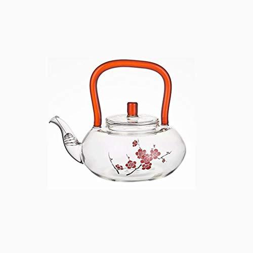 XZJJZ Pequeño pote del té del tamiz del té con la bobina...