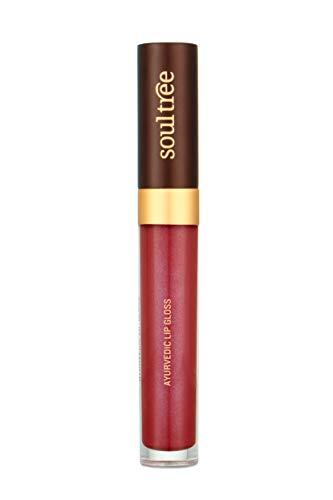 SoulTree Ayurvedic Lip Gloss - Lush Berry Colour(205), 5 g