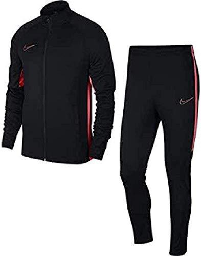 Nike Herren M NK Dry ACDMY TRK K2 Tracksuit, Black/Ember Glow, XS
