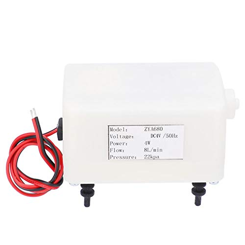 Inflador eléctrico DC ultra silencioso ZYA680 4W 6‑8L / min para colchonetas...