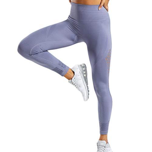 Luoluoluo dames yogabroek elastische joggingbroek met gaatjes leggings vrouwen sportbroek skinny trainingsbroek high waist