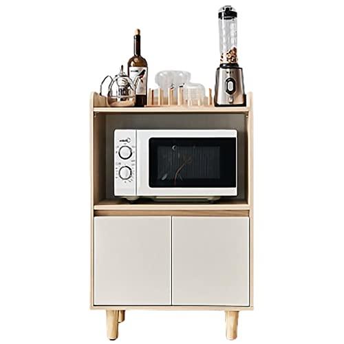 Priority Culture Aparador Moderno Buffet Material De Protección del Medio Ambiente Armario Auxiliar Comedor Sala Cocina Almacenamiento De Particiones (Color : Brown, Size : 60 * 39 * 43cm)
