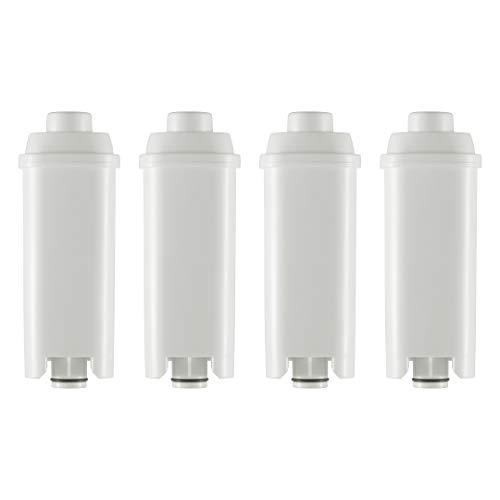 4 Wasserfilter Filterpatrone Kalkfilter für Ihren Delonghi und Magnifica Kaffeeautomaten