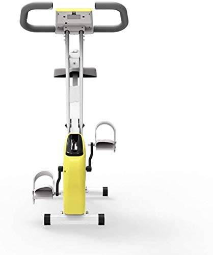 Bicicleta estática bajo el escritorio, mini bicicleta estática, pedal de bicicleta con monitor LCD, equipo deportivo, bicicleta aeróbica