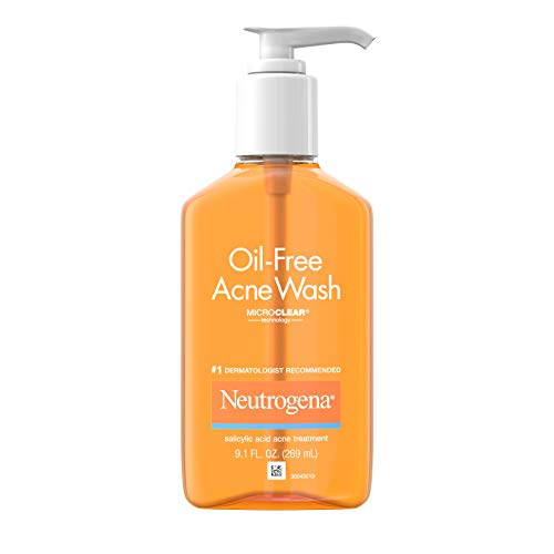 3 Neutrogena Oil-Free Acne Fighting Facial Cleansers Now $10.75