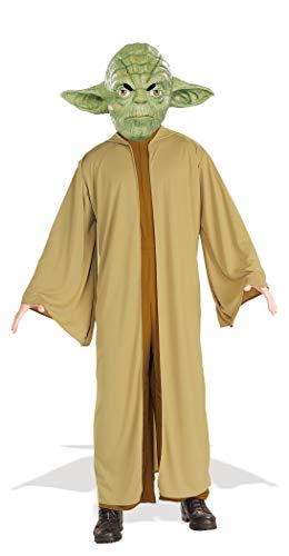 Rubie's-déguisement officiel - Star Wars- Déguisement Costume Yoda - Taille adulte- ST-16804