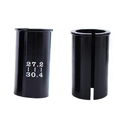 Tija de sillín de reemplazo Adaptador Reductor del Asiento Duradero de aleación de Adaptador de Asiento de la Bici del Tubo del Asiento Manguito 27,2-30,4 Tipo Materiales duraderos