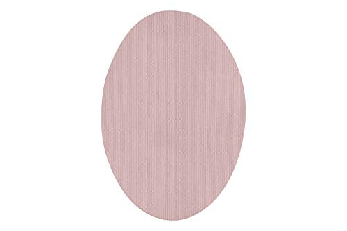 Rodilleras elásticas termoadhesivas para la ropa | Parches para reparar prendas. 6 Coderas o rodilleras de 9 x 13 cms. Color: Rosa