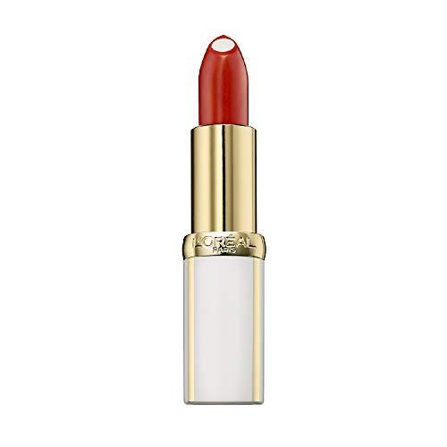 L'Oréal Paris Age Perfect Lippenstift in Nr. 298 light tangerine, intensive Pflege und Glanz, in kräftigem rot, 4,8 g