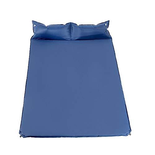 XF Aufblasbare Matte Feuchtigkeitsbeständige Fußmatten Home Mittagspause Außenzelt Luftpolster Doppelte Verdickung Wild Camping Tragbare Automatische Aufblasbare Bett Schlafmatte Camping Bettwäsche