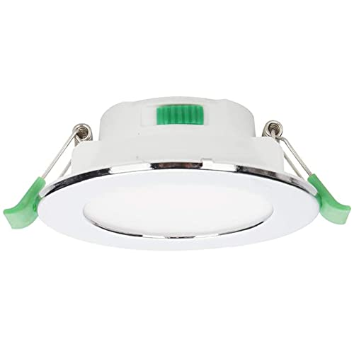 7W Led Downlight Regulable Lámpara de Techo empotrada en el Techo 700LM con CCT Ajustable 3000K / 4000K / 5700K Cálido/Natural (Color : White, Size : 6 Pieces)
