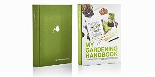 Suck UK My Gardening Handbook - Hardcover Journal for Gardeners and Plant Lovers - Green