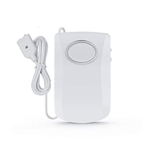 ZONJIE Sensore di allarme acqua Rilevatore di perdite dacqua con suono di 60 dB, avvisi di perdite di alluvione di troppo pieno, perdita del monitor remoto per cantina.