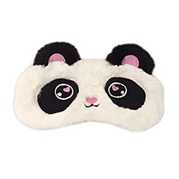 Honbay Cute Panda Sleeping Eye Mask Cartoon Animal Eye Mask for Girls or Boys