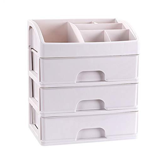 Boîte de Rangement cosmétique Simple à tiroir en Plastique Multicouche Type Rouge à lèvres Bijoux Produits de Soin de la Peau Boîte de Stockage FANJIANI (Color : 27.5 * 20 * 32cm)