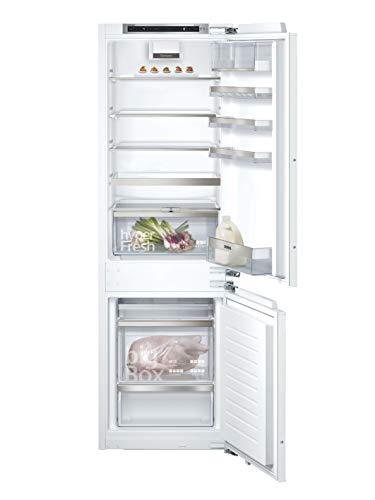 Siemens KI86SADD0 iQ500 Einbau-Kühlgefrierkombination / A+++ / 151 kWh/Jahr / 260 l / lowFrost / hyperFresh Premium 0° / LED Beleuchtung