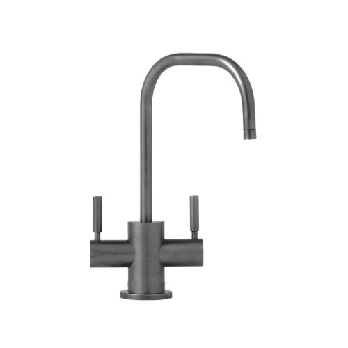 Waterstone 1425HC-AP Fulton Filtration Faucet Hot and Cold Double Handle, Antique Pewter