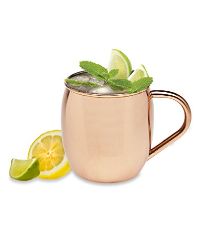 Godinger Moscow Mule All Mug, 20 oz, Copper