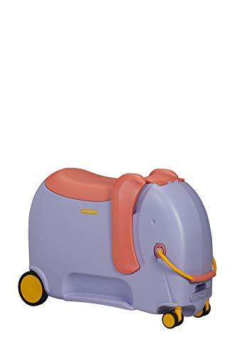 Samsonite Dream Rider Deluxe, Equipaje infantil, 55 cm, 25 L, Morado (Elephant Lavender)