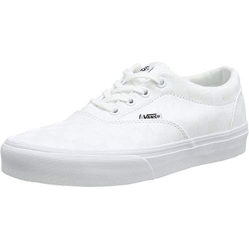 Vans Damen Doheny Sneaker, Weiß ((Checkerboard) White/White W51), 37 EU